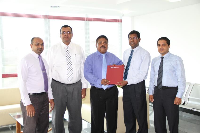 CA Sri Lanka renews MoU with SLT Rainbow Pages to develop